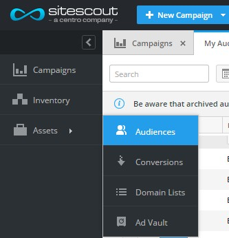 SiteScout-Audiences