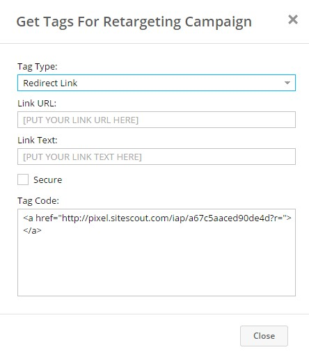 SiteScout-Redirect-Link