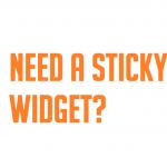 sticky-widget-